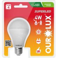 LAMP.OUROLUX SUPERLED 4,7W BIVOLT 6500K - Cód. 7898324005138C50