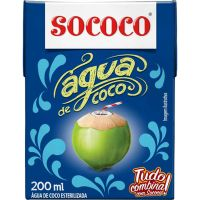 AGUA DE COCO SOCOCO 200ML - Cód. 7896004400358C24