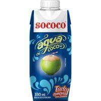 AGUA DE COCO SOCOCO 330ML - Cód. 7896004401744C12