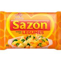 TEMPERO SAZON 60G AMARELO LEGUMES - Cód. 7891132019403C12