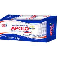 Algodao Apolo Hidrofilo 25G - Cód. 7896224410113C20