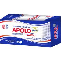 ALGODAO APOLO 50G HIDROFILO - Cód. 7896224400237C120