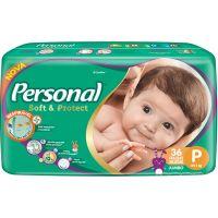 Fralda Personal Baby Jumbo P 36Un - Cód. 7896110005607C9