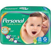 Fralda Personal Baby Jumbo G 28Un - Cód. 7896110005669C9