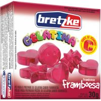 Gelatina Bretzke 30G Framboesa - Cód. 7896072048988C36