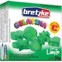 Gelatina Bretzke 30G Limao - Cód. 7896072048995C36