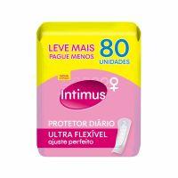 Protetor Diario Intimus Ultra Flexivel | Com 80 Unidades - Cód. 7896007548118C4