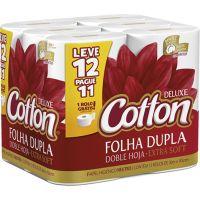 Papel Higienico Cotton 30M L12P11 Neutro Compacto - Cód. 7896301802923C6