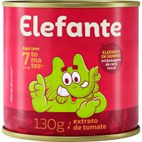 Extrato De Tomate Elefante 130g - Cód. 7896036095041C48