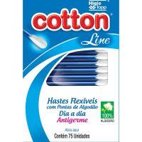 Haste Flexcotton Line 75Un - Cód. 7898095296018C12