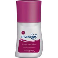 Desodorante Monange Roll-On 60Ml Frutas Vermelha - Cód. 7891350034592C12