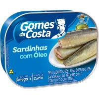 Sardinha Gomes Da Costa 250G Oleo - Cód. 7891167036871C48