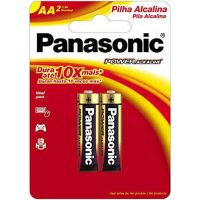 Pilha Panasonic Alcalina 2Un Sm Pequena - Cód. 7896067200162C96
