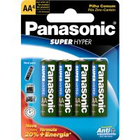 Pilha Panasonic 4Un 3Shs Pequena - Cód. 7896067200032C80