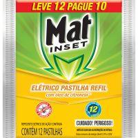 INSET.MAT INSET REFIL PAST L12P10 CITRONELA - Cód. 7897664168343C20