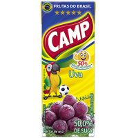Nectar Camp Tp 200Ml Uva - Cód. 7898027654855C27