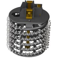 Resistencia Para Chuveiro Hydra Corona 4T Hydramax 5500W 220V - Cód. 7891071451104