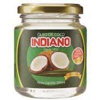 Oleo de Coco Indiano 200Ml Extra Virgem - Cód. 7896047804014C6