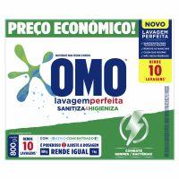 Detergente em Po Sanitizante Omo Lavagem Perfeita Caixa 800G - Cód. 7891150072138C20