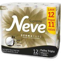 Papel Higienico Neve 20M L12 P11 Ftsupreme - Cód. 7891172432736C4