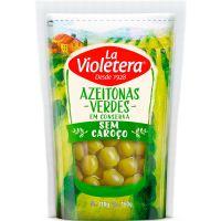 Azeitona La Violetera 160G Verde S/Csc - Cód. 7891089018931C24