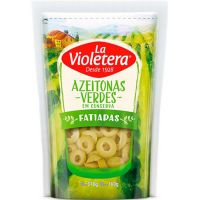 Azeitona La Violetera 160G Verde Fatsc - Cód. 7891089018948C24