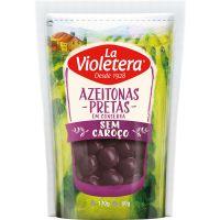 Azeitona La Violetera 80Gpreta S/C Sc - Cód. 7891089440572C20