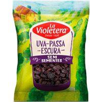 Fruta Natural Uvapassa La Violetera 200G Escs/S - Cód. 7891089061692C20