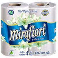 Papel Higienico Mirafiori 4X30M Neutro - Cód. 7896075301448C16