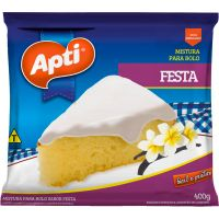 Mistura Para Bolo Apti 400G Festa - Cód. 7896327501398C12