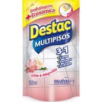 Limpador Destac 500Ml Refil Lirio&Magnolia - Cód. 7891035116179C12