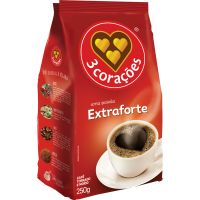 Cafe 3 Coracoes 250g Stand.Pack Ext. Forte - Cód. 7896005801512C20
