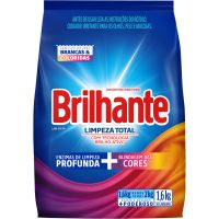 Detergente em Po Brilhante Sn 1,6Kg Sc Limpador Total - Cód. 7891150066588C7