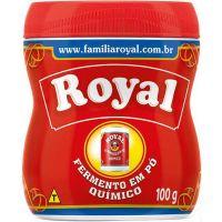 Fermento Quimico em Po Royal 100g - Cód. 7622300119607C72