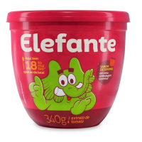 Extrato de Tomate Elefante Pote 340g - Cód. 7896036098639C24