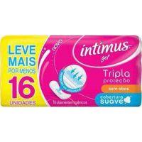 Absorvente Intimus Gel Normal S/Abas 16Un Suave - Cód. 7896007540648C6