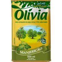 Oleo Composto Olivia Manjericao 500ml - Cód. 7896036090763C4