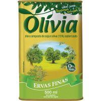 Oleo Composto Olivia Ervas Finas 500ml - Cód. 7896036090329C20