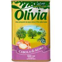 Oleo Composto Olivia Cebola E Alho 500ml - Cód. 7896036090312C20