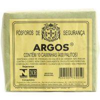 Fosforo Argos   Caixa Com 10 Unidades - Cód. 7898905100061C120