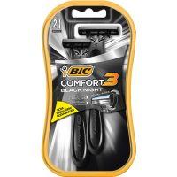 Aparelho de Barbear Bic Comfort 3 Black Night 2Un - Cód. 70330724815C72