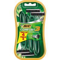 Aparelho de Barbear Bic Comfort 3 Pele Sensivel Leve 4 Pague 3 Unidades - Cód. 70330734401C72