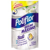 Cera Poliflor 500Ml Maximo Brilho Incolor - Cód. 7891035322198C12