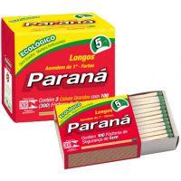 Fosforo Parana Familia   Caixa Com 10 Unidades - Cód. 7896080900216C120