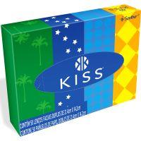 Lenco de Papel Kiss | Com 50 Unidades - Cód. 7896110011158C70