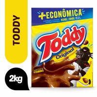 Achocolatado Em Pó Original Toddy Caixa 2Kg + Econômica - Cód. 7894321711553C6