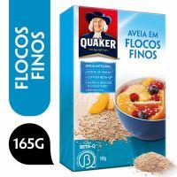 Aveia Em Flocos Finos Quaker Caixa 165G - Cód. 7892840815769C28