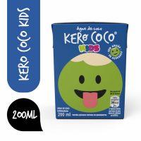 Água De Coco Esterilizada Kero Coco Kids Caixa 200Ml - Cód. 7894321235226C27
