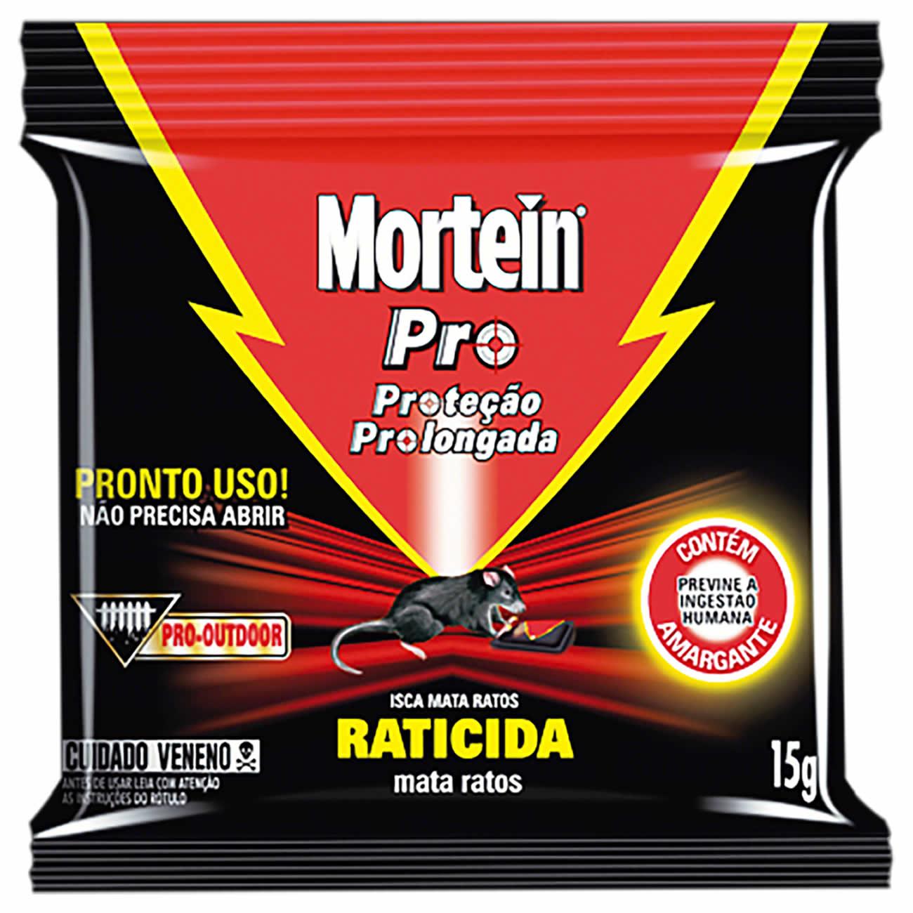Inseticida Mortein Isca 15G M.Ratos