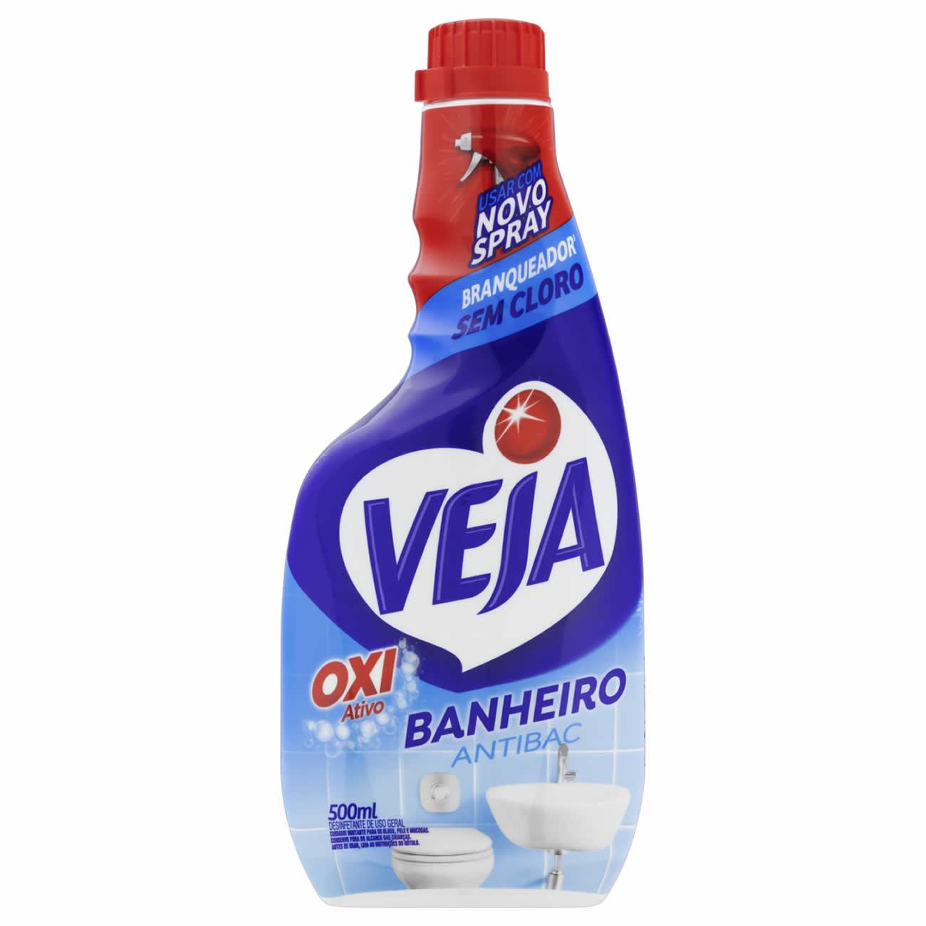 Limpador Veja 500Ml Ban Antibac Refil